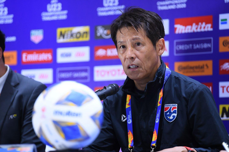 HLV Nishino gọi tên 4 cầu thủ xuất sắc của U23 Thái Lan trong trận hoà Iraq - Bóng Đá