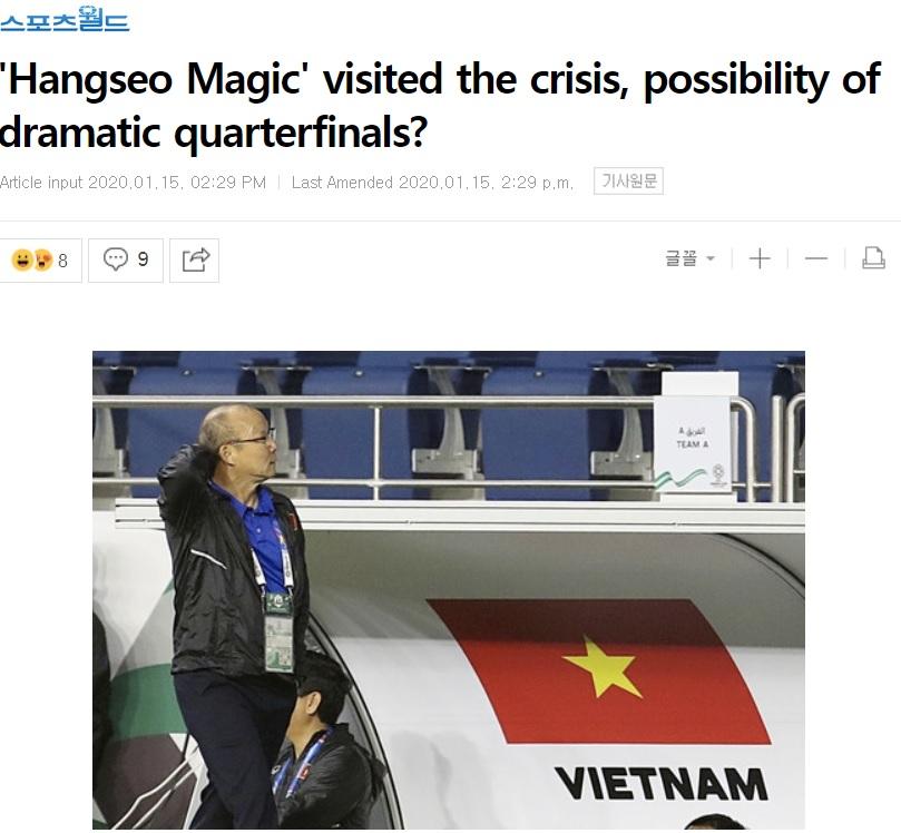 Báo Hàn Quốc: Đây, nhân tố sẽ giúp U23 Việt Nam vượt cạn, đoạt vé vào Tứ kết - Bóng Đá