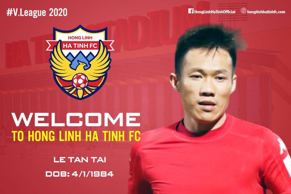 CHÍNH THỨC: Lão tướng Lê Tấn Tài gia nhập tân binh V-League 2020 - Bóng Đá