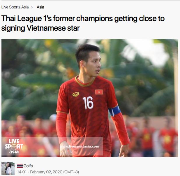 Báo châu Á: Muangthong sắp sở hữu chữ ký của sao ĐT Việt Nam? - Bóng Đá
