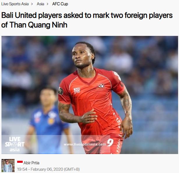 Báo châu Á: Nhà vô địch Indonesia quan tâm 2 ngoại binh Than Quảng Ninh - Bóng Đá