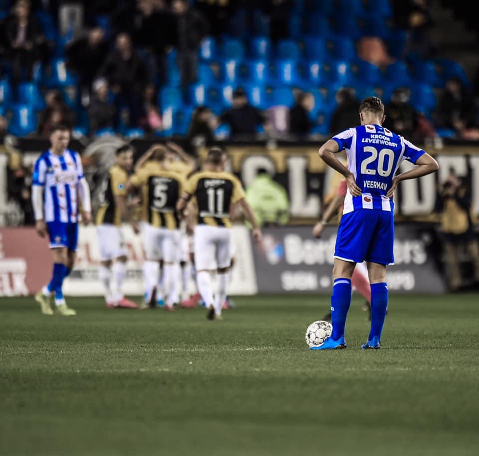Đoàn Văn Hậu ngồi ngoài trận thứ 17, Heerenveen thua muối mặt trước Vitesse - Bóng Đá