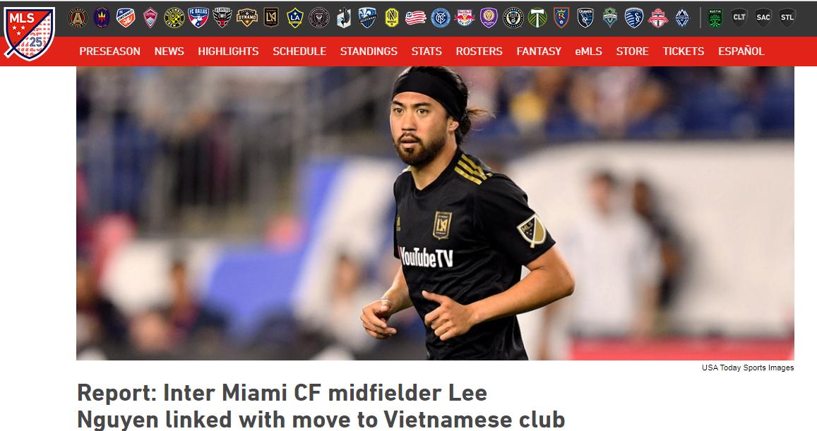 Báo Mỹ: CLB TP.HCM đang chèo kéo 1 tiền vệ xuất sắc bậc nhất MLS - Bóng Đá