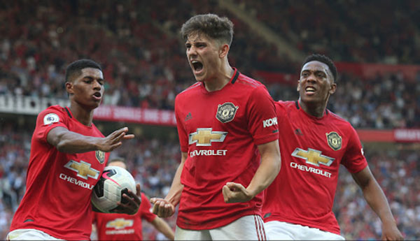 Daniel James names the three fastest players at ManchesUnited - Bóng Đá