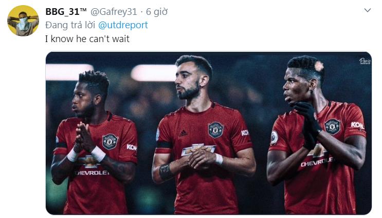 Bruno Fernandes nói 1 câu. CĐV Man Utd thay nhau phát cuồng - Bóng Đá