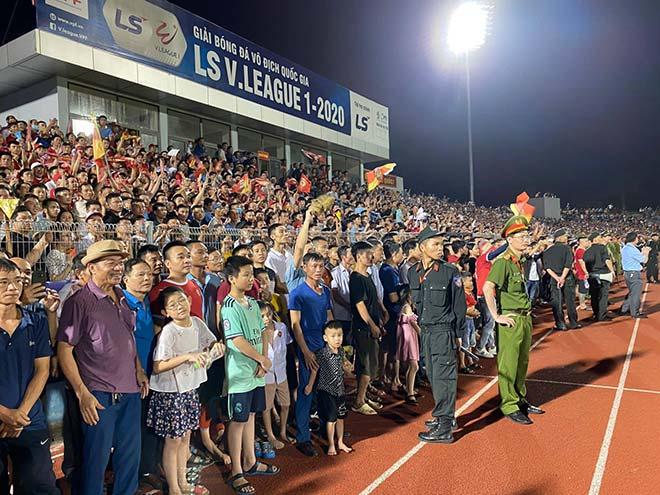 VFF ban bố án phạt dành cho BTC sân Hà Tĩnh sau sự cố