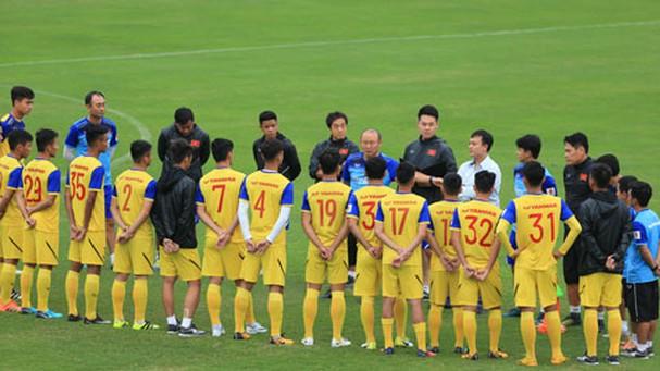 Lộ diện 16 cầu thủ được HLV Park Hang-seo gọi lên U22 Việt Nam - Bóng Đá