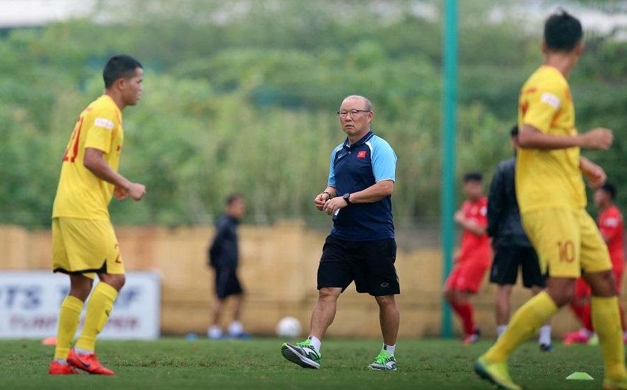 Thầy Park nói lời ruột gan với các cầu thủ U22 Việt Nam - Bóng Đá