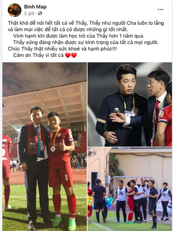 Cầu thủ CLB TP.HCM đồng loạt gửi thông điệp đến HLV Chung Hae-soung - Bóng Đá