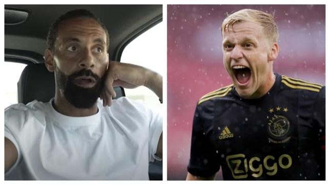 Ferdinand biết điều Van de Beek sẽ mang đến cho Man Utd