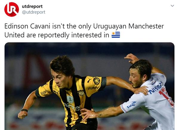 Man Utd chuyển hướng chèo kéo sao mai Uruguay, CĐV nói ngay 1 câu - Bóng Đá