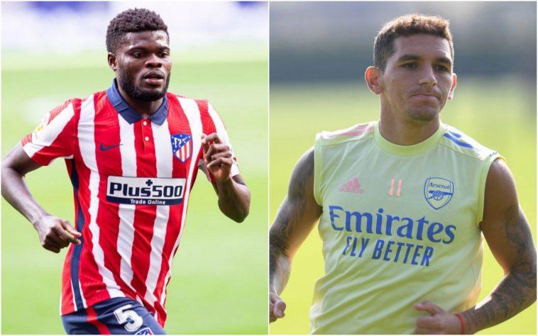 Lucas Torreira sends message to Thomas Partey over Arsenal transfer - Bóng Đá