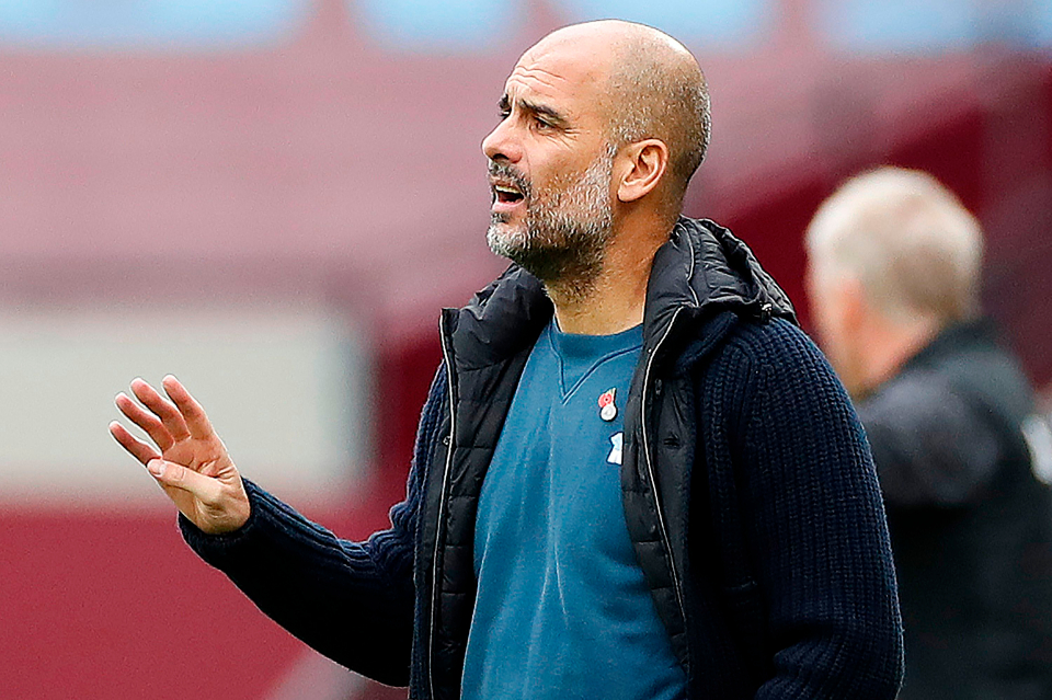 Man City bị cầm hoà, HLV Pep Guardiola đón nhận thêm