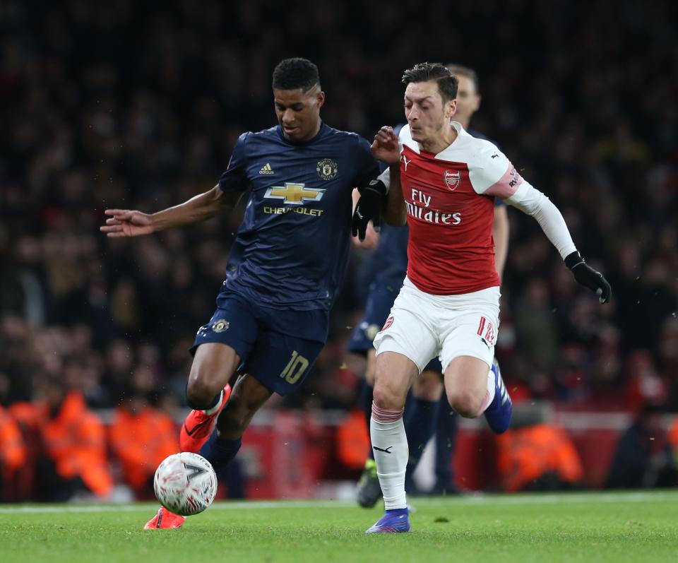 Ozil chọn đội hình 5 người: Không 1 sao Arsenal, bất ngờ chủ công Man United - Bóng Đá
