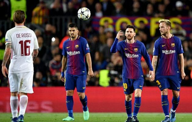 AS Roma đã có cách làm Messi tắt điện - Bóng Đá