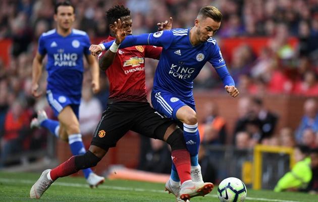 Fred thể hiện ra sao ở trận ra mắt Man United? - Bóng Đá