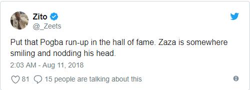 'Simone Zaza hẳn rất mãn nguyện vì pha lấy đà của Pogba' - Bóng Đá