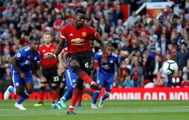 Sau tất cả, Pogba đã trở lại Man Utd với chiếc băng đội trưởng trên tay - Bóng Đá