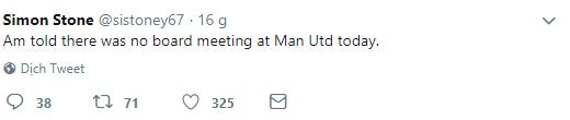 Không có cuộc họp nào giữa Mourinho và Ed Woodward - Bóng Đá