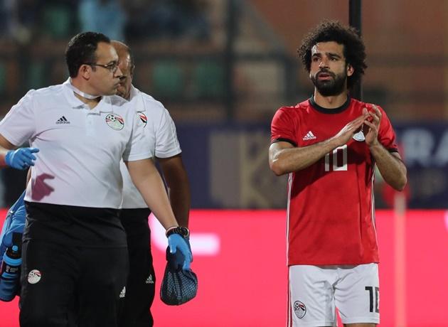 Xong! Salah bị trả về Liverpool vì chấn thương - Bóng Đá