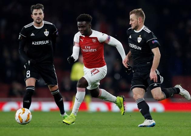 Ra mắt ấn tượng, Bukayo Saka được ví như Ronaldo - Bóng Đá