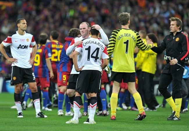 Man Utd gặp Barca: Cú