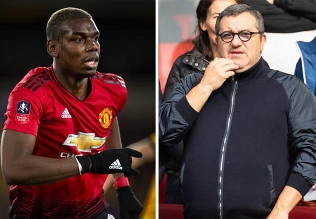 Paul Pogba WANTS Man Utd exit - Mino Raiola planning Real Madrid transfer - Bóng Đá