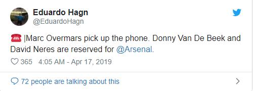 Fan Arsenal mong Overmars làm giám đốc, mua 3 sao ajax - Bóng Đá