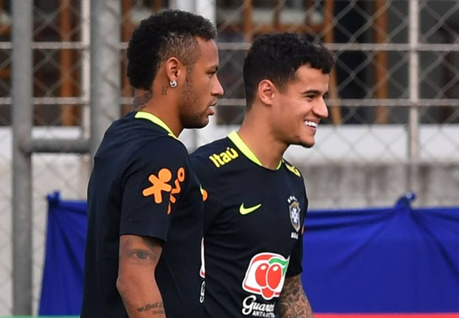 Philippe Coutinho reveals transfer stance as he responds to Neymar rumours - Bóng Đá
