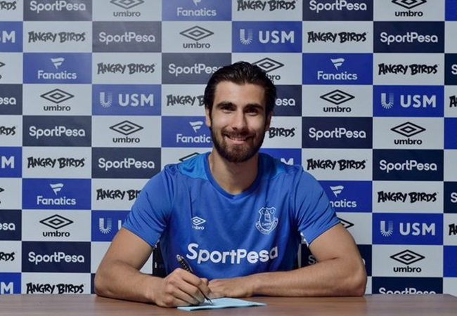 Everton sign Andre Gomes from Barca Official  - Bóng Đá