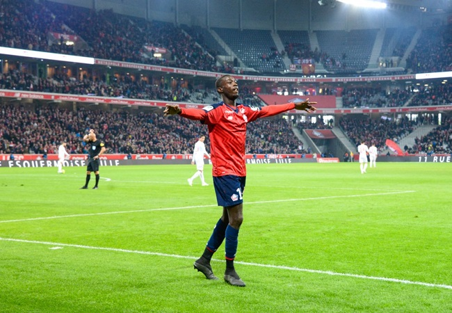 Manchester United have now submitted an offer just shy of €80m for Lille attacker Nicolas Pépé - Bóng Đá