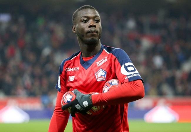 Nicolas Pépé's agents would like their client to move to Arsenal - Bóng Đá