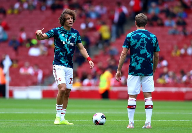 David Luiz explains why it's 'a pleasure' to have joined Arsenal from Chelsea - Bóng Đá