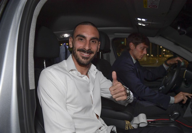 Davide Zappacosta has just landed in Italy and tomorrow he'll be new Roma player - Bóng Đá