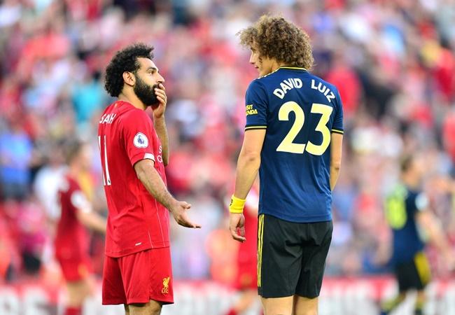 David Luiz says Mohamed Salah didn't feel shirt pull and bemoans penalty decision - Bóng Đá