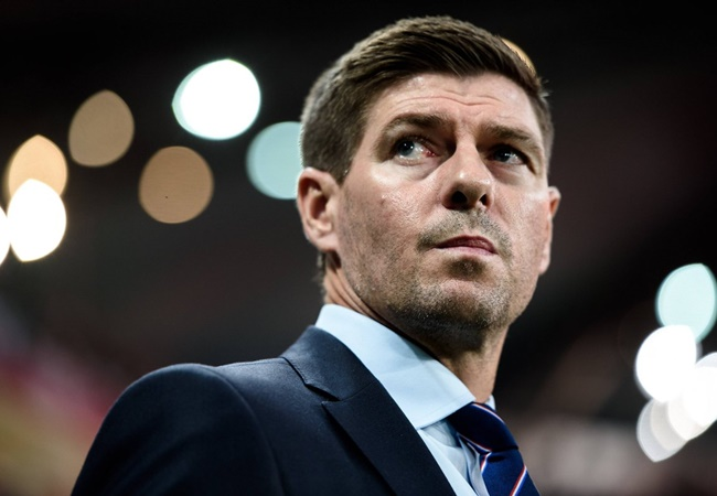 Steven Gerrard reveals his Manchester United wish as Rangers boss hails Ibrox fans - Bóng Đá