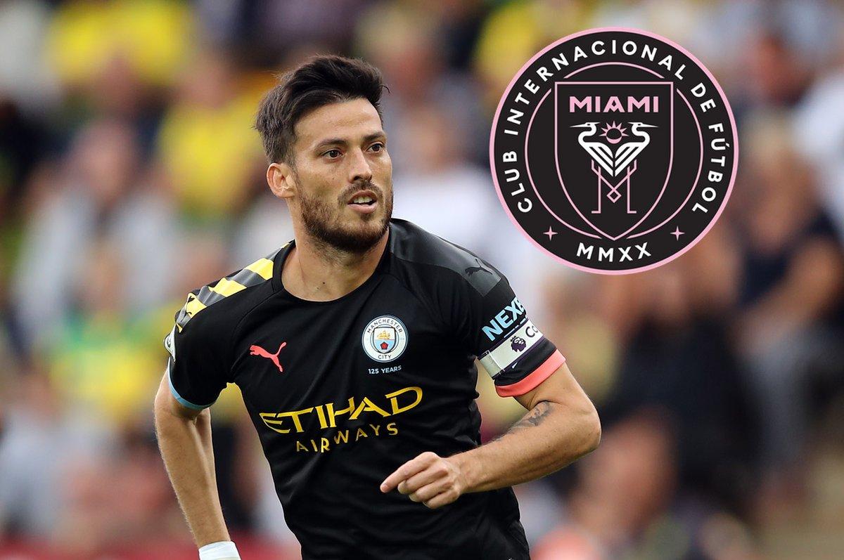 Manchester City star David Silva reportedly to join David Beckham's Inter Miami FC - Bóng Đá