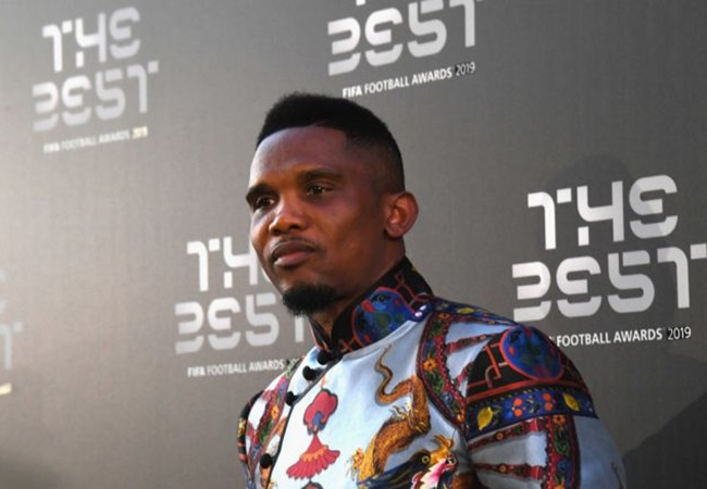 Eto'o names the two players who deserved best player award over Messi, Van Dijk and Ronaldo - Bóng Đá