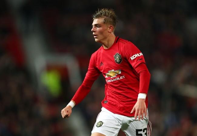 Brandon Williams reacts to making Manchester United debut vs Rochdale - Bóng Đá