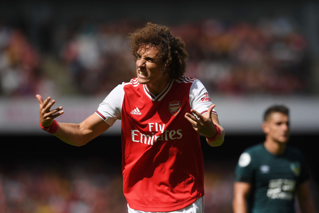 David Luiz reveals disagreement with Frank Lampard before leaving Chelsea for Arsenal - Bóng Đá