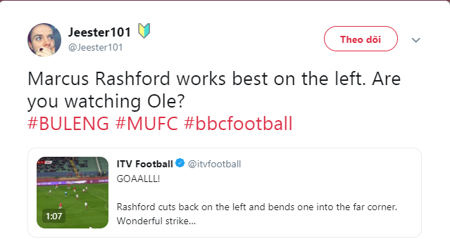 Manchester United fans make demand after Marcus Rashford scores for England - Bóng Đá