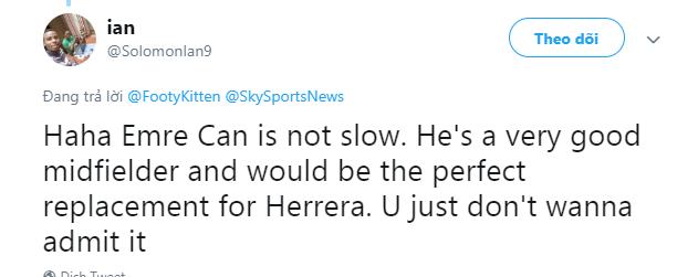Man Utd fans react to interest in former Liverpool midfielder Emre Can - Bóng Đá