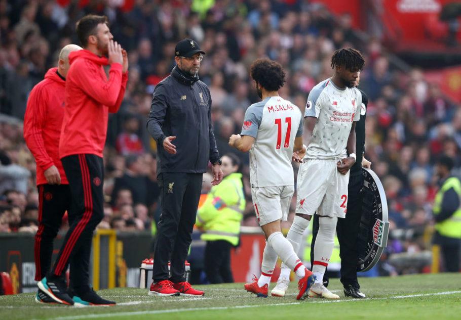Jurgen Klopp warns Mohamed Salah ahead of Manchester United test - Bóng Đá