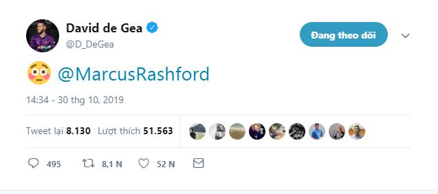 David De Gea reach marcus rashford goal - Bóng Đá