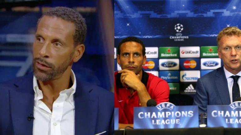 Man Utd flop David Moyes responds to Rio Ferdinand blasting his Old Trafford reign - Bóng Đá