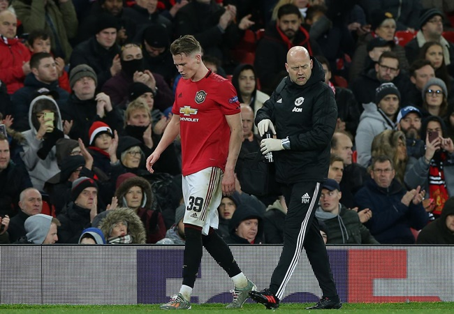 Ole Gunnar Solskjaer hopeful Scott McTominay will be fit for Brighton clash after injury scare - Bóng Đá