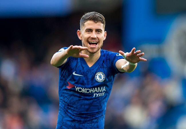 Jorginho plays down Chelsea's Premier League title chances ahead of Man City clash - Bóng Đá
