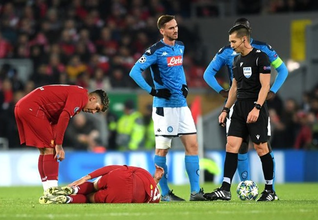 Jurgen Klopp provides Fabinho injury update after Liverpool's draw with Napoli - Bóng Đá