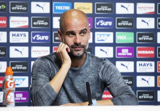 Pep Guardiola admits he is shocked Manchester United have not challenged Manchester City - Bóng Đá