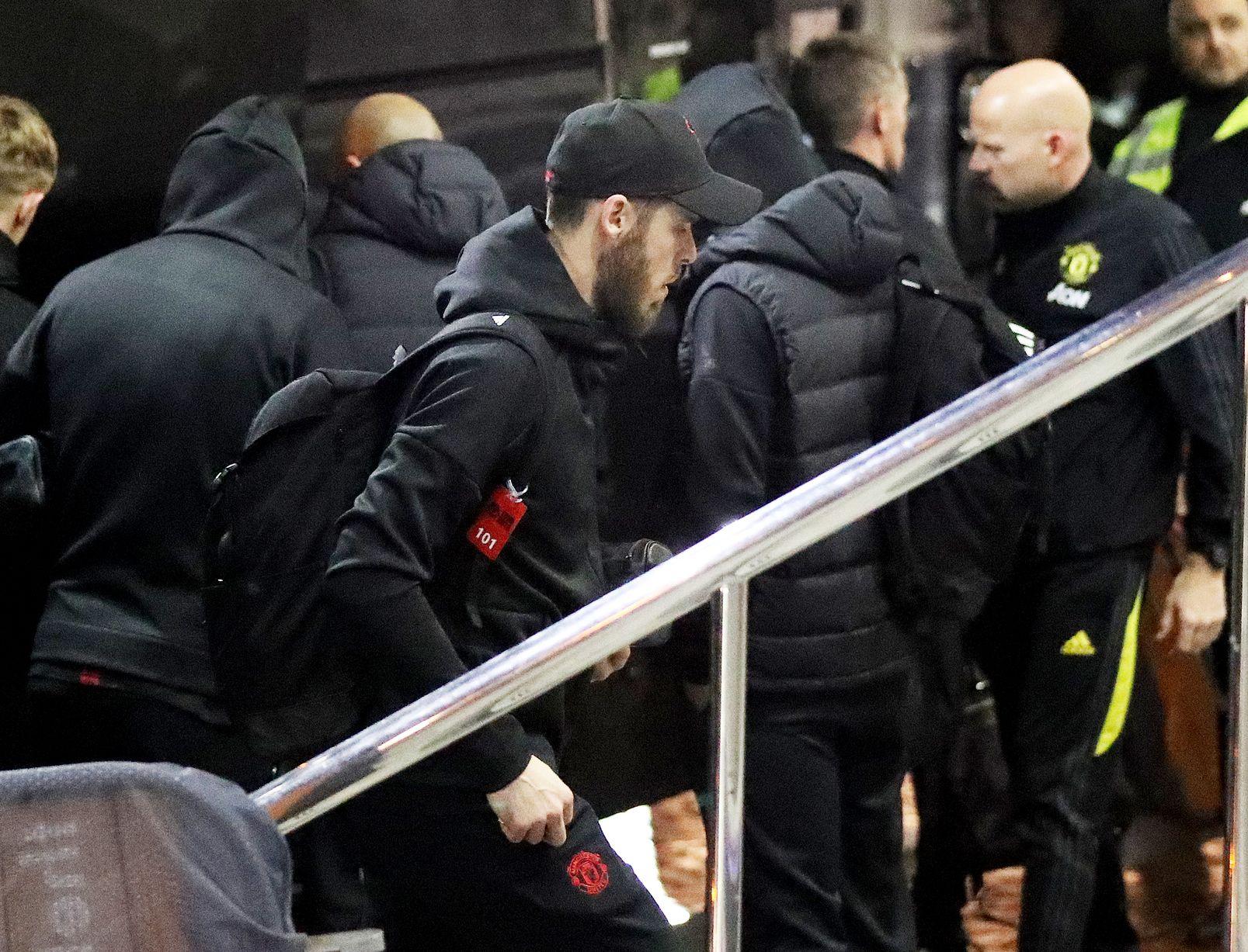Manchester United squad vs Man City - Bóng Đá